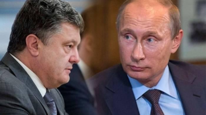 Putin və Poroşenko telefonla danışıb