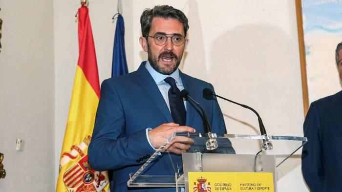 Espagne: démission du ministre de la Culture