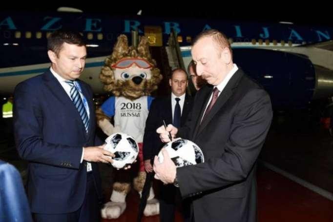 Ilham Aliyev est en visite en Russie - PHOTOS