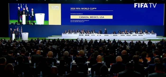 Les Etats-Unis, le Mexique et le Canada désignés pays hôtes de la Coupe du monde 2026