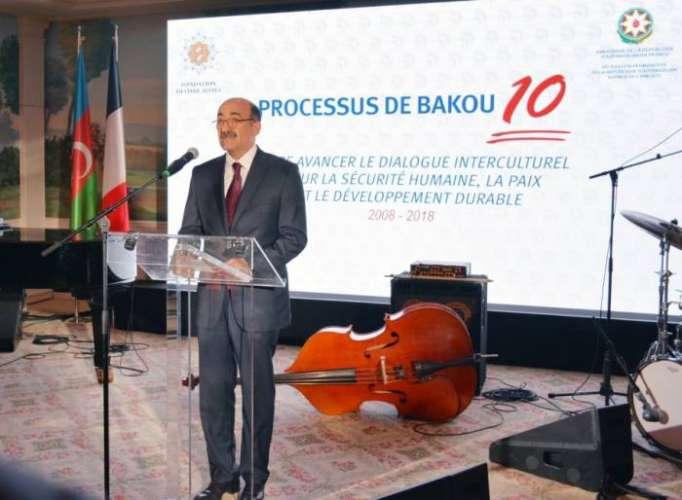"""Paris: 10. Jahrestag von """"Bakuer Prozess"""" gefeiert"""