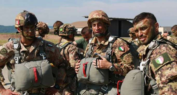 Italy sends troops to support YPG/PKK terrorists