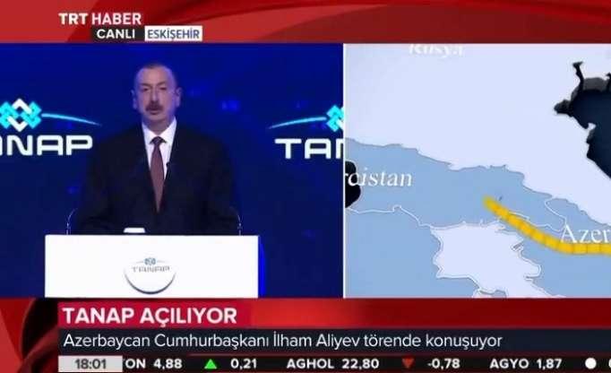 TANAP is another victory of Turkey, Azerbaijan, saysPresident Aliyev