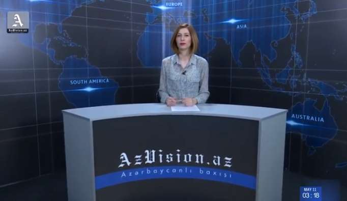 AzVision TV:Die wichtigsten Videonachrichten des Tages aufEnglisch(12 Juni)-VIDEO