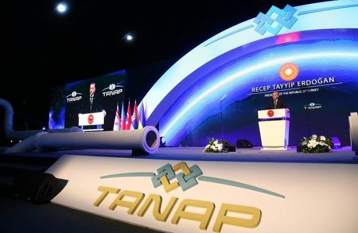TANAP ist ein Vertrauensbeweis zwischen Aserbaidschan und der Türkei - Präsident Erdogan