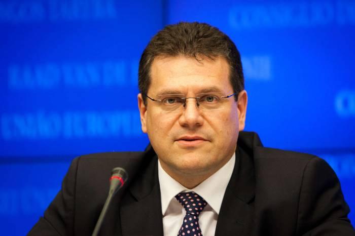 EU begrüßt Interesse weiterer Lieferanten für den Beitritt zum Südlichen Gaskorridor - Sefcovic