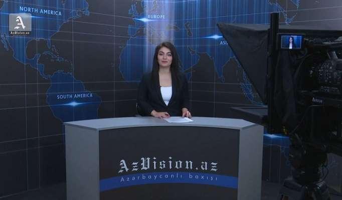 AzVision TV:Die wichtigsten Videonachrichten des Tages aufEnglisch(14 Juni)-VIDEO
