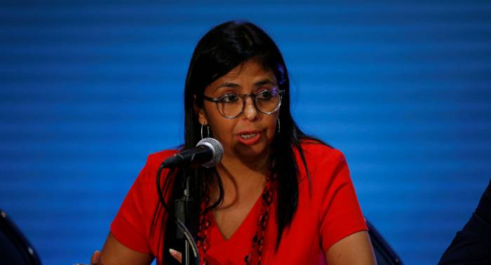 Maduro nombra a Delcy Rodríguez como nueva vicepresidenta ejecutiva