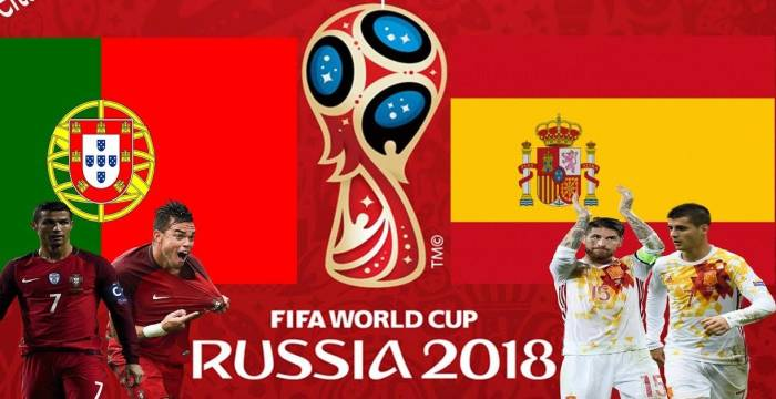 World Cup: Spain and Portugal face off in Sochi