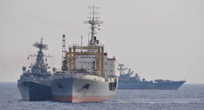 Russische Kriegsschiffe auf See: Marinechef nennt genaue Zahl