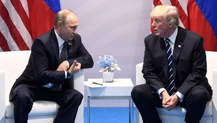 Tramp gələn ay Putinlə görüşəcək