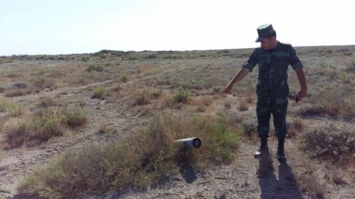 Ələt ərazisində 2 ədəd raket tapılıb