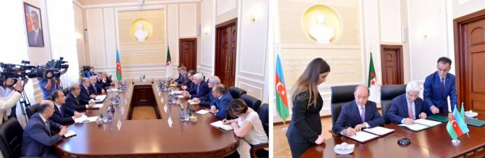 L'Azerbaïdjan signe le premier accord interétatique avec l'Algérie