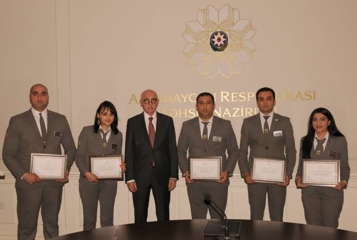 "Employees of ""Friend of Pupil"" project awarded by the Ministry of Education"