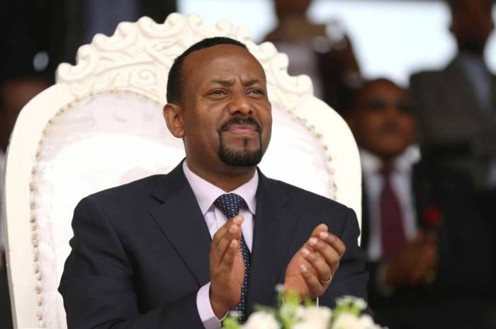 Grenade attack caused blast at rally for Ethiopian prime minister