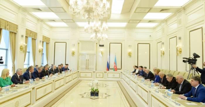 Président de la Douma d'Etat russe: Les relations entre la Russie et l'Azerbaïdjan s'approfondissent encore plus