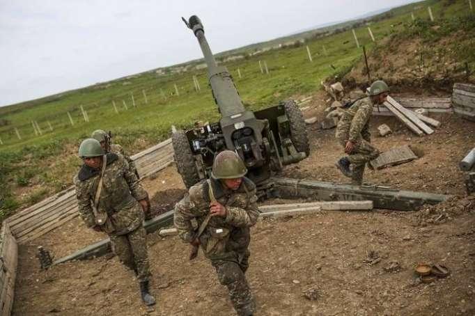 Armenia holds military drills in occupied Azerbaijani lands