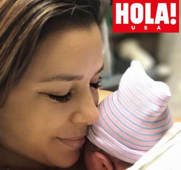 Eva Longoria poste la 1ère photo de son fils