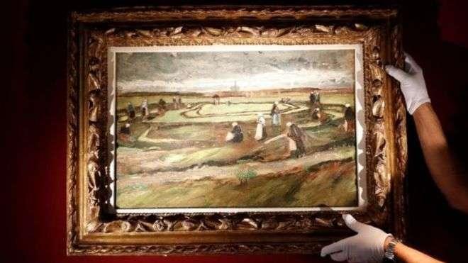 منظر طبيعي من أعمال فان غوخ الأولى يباع بـ 8.2 ملايين دولار