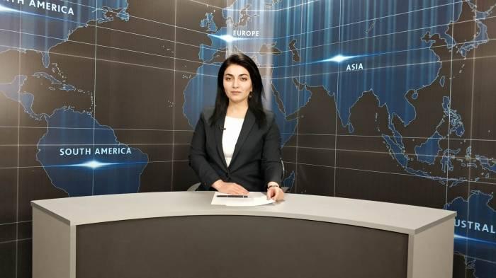 AzVision TV:Die wichtigsten Videonachrichten des Tages aufEnglisch (08 Juni)-VIDEO
