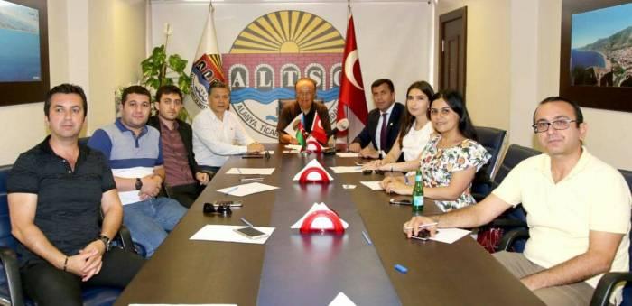 PJB üzvləri Türkiyədə görüşlər keçirib