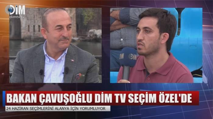 Çavuşoğlu canlı yayımda AzVisionun sualını cavablandırdı - VİDEO