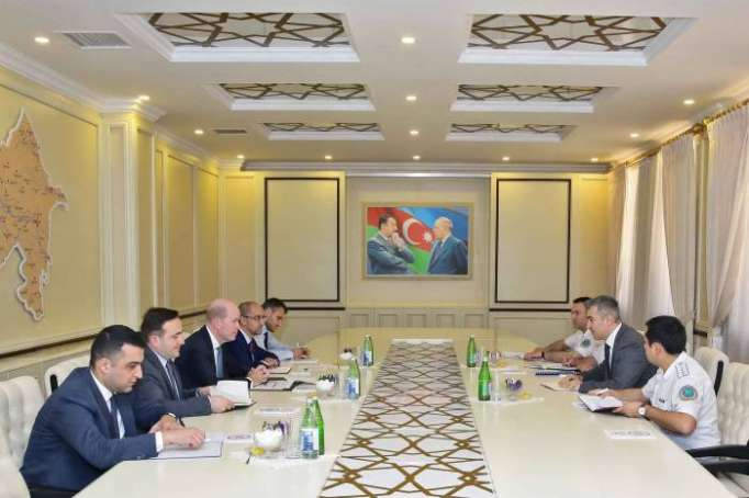 Vüsal Hüseynov BP-nin regional prezidenti ilə görüşüb