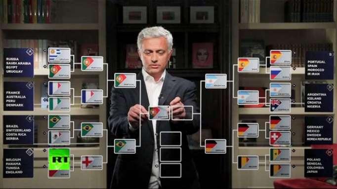 Y el campeón será...: La predicción final de Mourinho para el Mundial de Rusia