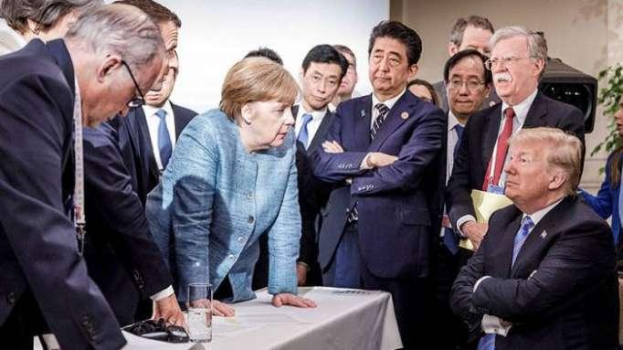 Trump reitera que Moscú debería volver al G8