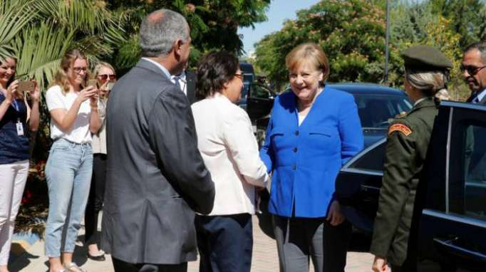 Merkel will Jordanien als Stabilitätsanker in Krisenregion stützen