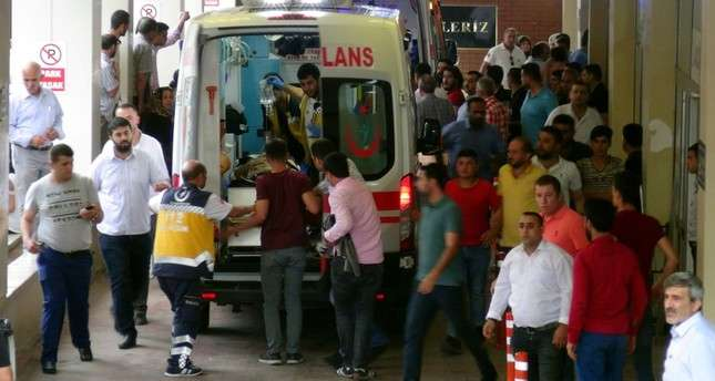 3 killed, 8 injured after attack on AK Party campaigners in southeast Turkey