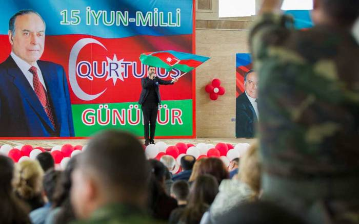 Milli Qurtuluş gününə həsr olunmuş konsert keçirilib - FOTOLAR