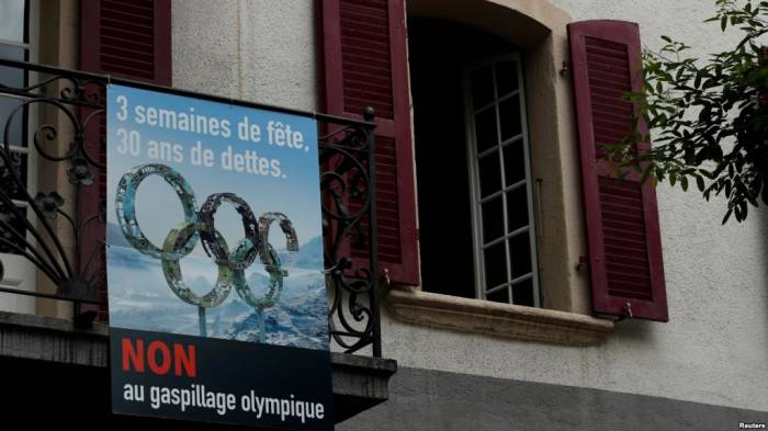 Voters in Swiss canton reject new bid to host Winter Olympics