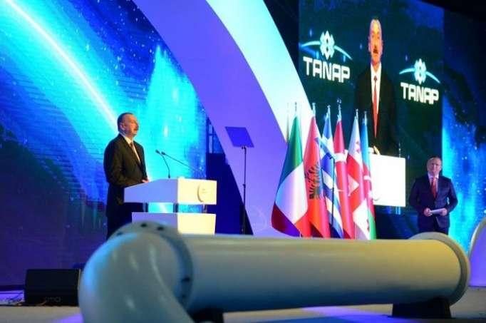 Prezidentin TANAP-ın açılışındakı çıxışı - TAM MƏTN