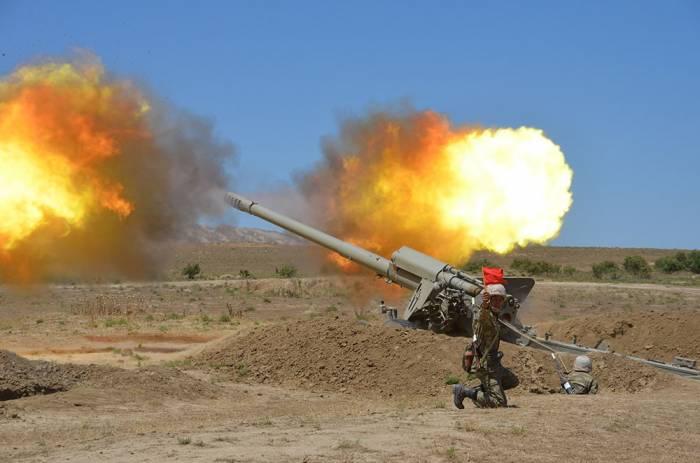 Les unités de roquettes et d'artillerie ont effectué des exercices de tirs de combat - PHOTO - VIDEO