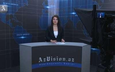 AzVision TV publica nueva edición de noticias en inglés para el 14 de junio-Video