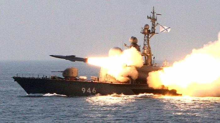 La Flota rusa del Pacífico dispara misiles de crucero Moskit en el mar de Japón