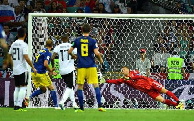 Alemania derrota a Suecia y cobra vida en el Mundial de Rusia 2018