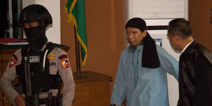 Indonesie: peine de mort pour un extrémiste islamiste