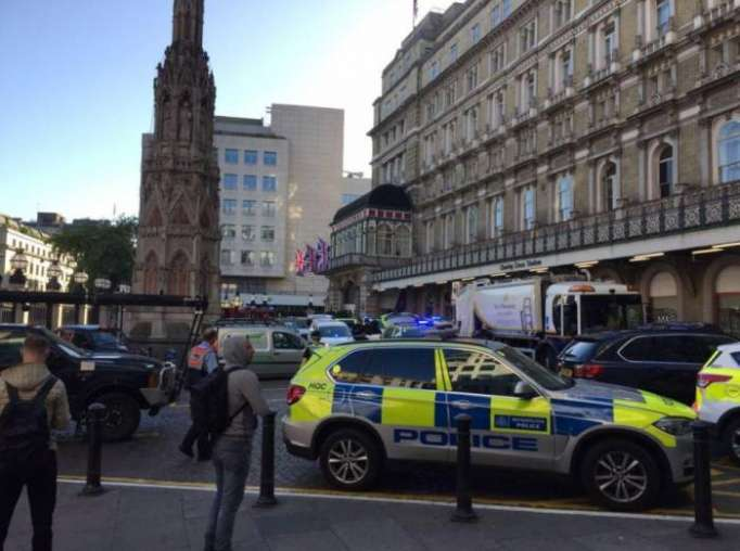 London station evacuated after reports of man on track with bomb