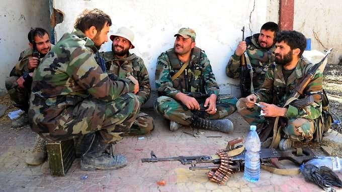 Syrien demobilisiert Rekruten von 2010