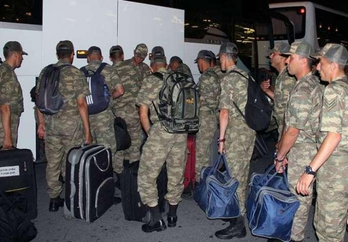 Türkiyədən 100-dək hərbçi Azərbaycana gəlib - FOTO+VİDEO