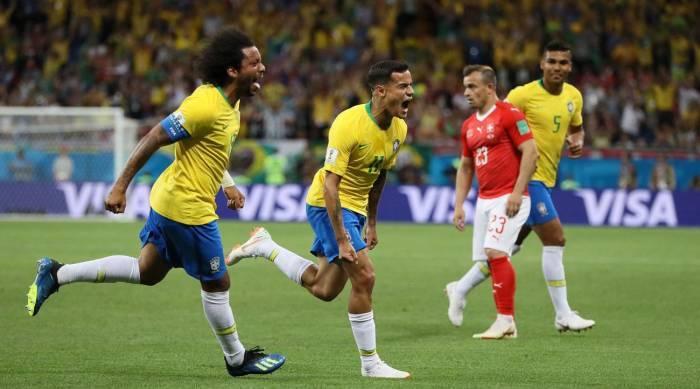 Switzerland hold Brazil to 1-1 draw in team