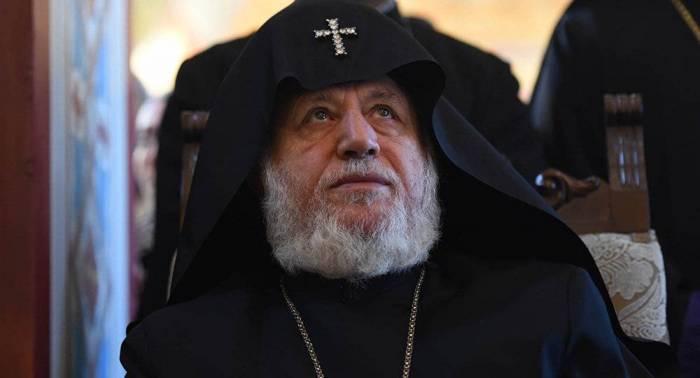 Erməni katolikos etirazçılara xəbərdarlıq etdi