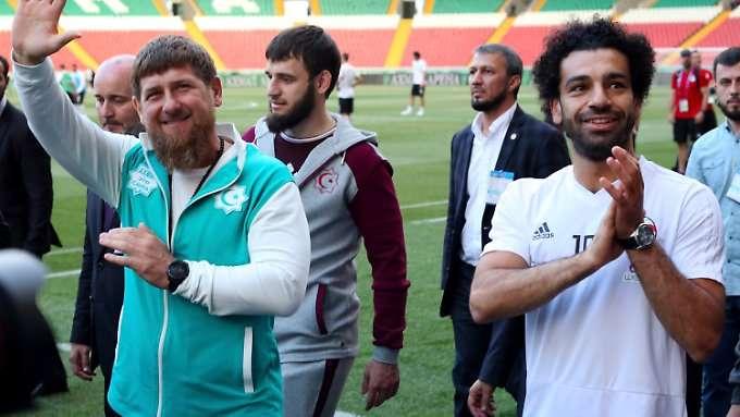 Das brisante Foto von Fußball-Star Salah