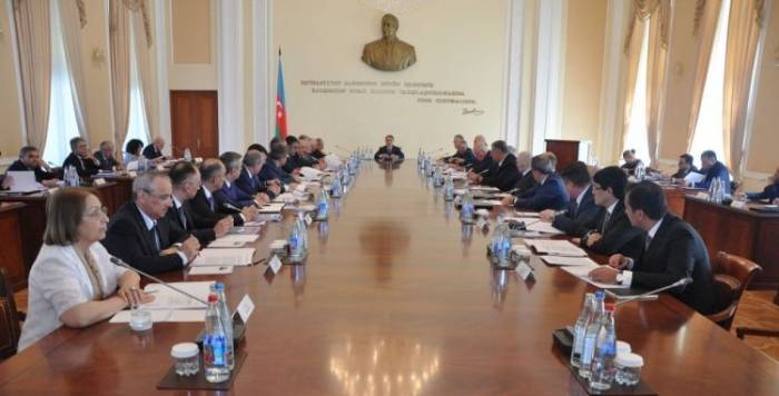 Azerbaijan's Cabinet of Ministers holds expanded meeting