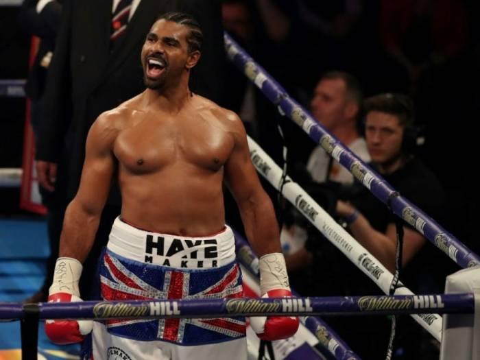 Le boxeur britannique David Haye annonce sa retraite sportive