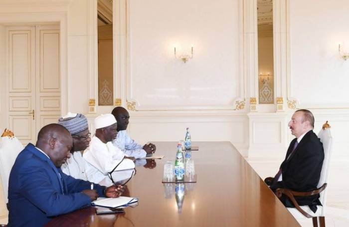 President Ilham Aliyev receives Gambian FM - UPDATED