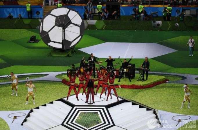 Coupe du monde 2018 : la cérémonie d'ouverture en images