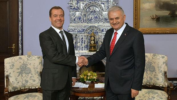 Russian, Turkish prime ministers discuss construction of Akkuyu NPP, TurkStream pipeline